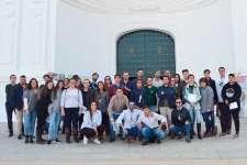 El Grupo Joven participó en El Rocío del inicio del curso de la juventud cofrade de Cádiz