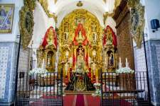 Santa María se entregó a la Virgen del Rosario