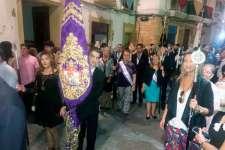 La Cofradía del Nazareno participó en los actos en honor a la Virgen del Rosario Coronada