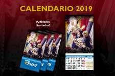 ¡Ya a la venta el Calendario 2019 del Nazareno de Santa María!