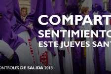 NOTA | Ampliación de horarios de recogida de Controles de Salida para el Jueves Santo 2018