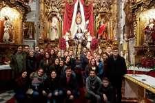 Productiva jornada de convivencia de los jóvenes cofrades del barrio Santa María