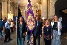 La Cofradía del Nazareno participó en la Peregrinación a la Catedral de Cádiz