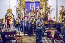 La Cofradía del Nazareno abre los brazos un año más a los hermanos de Expiración
