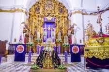 FOTOGALERÍA: Altar del Viernes de Dolores 2018