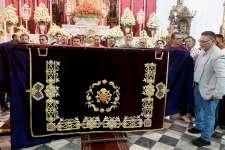 María Santísima de los Dolores estrenará caídas bordadas en la Semana Santa 2020