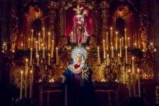 Solemnidad y recogimiento para cerrar el 75º aniversario de María Santísima de los Dolores