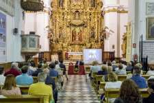 Lorenzo Alonso de la Sierra desgranó la historia de María Santísima de los Dolores