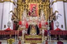 FOTOGALERÍA | Altar del 75º aniversario de María Santísima de los Dolores