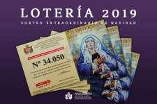 ¡Ya a la venta la Lotería de Navidad 2019 de la Cofradía del Nazareno!