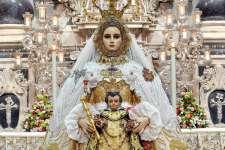 Este jueves, llegada de la Patrona de Cádiz a la Capilla del Nazareno de Santa María