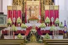 El Triduo en honor de María Santísima de los Dolores, entre el 12 y 15 de septiembre