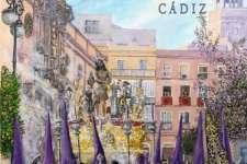 La Cofradía del Nazareno felicita a la Archicofradía de Columna, protagonista del Cartel de la Semana Santa 2020