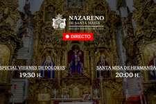 TV EN DIRECTO | Especial Viernes de Dolores y Santa Misa de Hermandad de la Cofradía del Nazareno (03/04/2020)