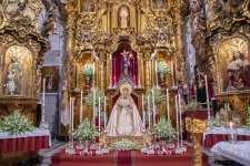 FOTOGALERÍA   Altar de Triduo de María Santísima de los Dolores (2021)
